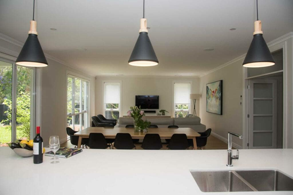 Lindfield Home - Open Plan Kitchen, Dinning & Lounge