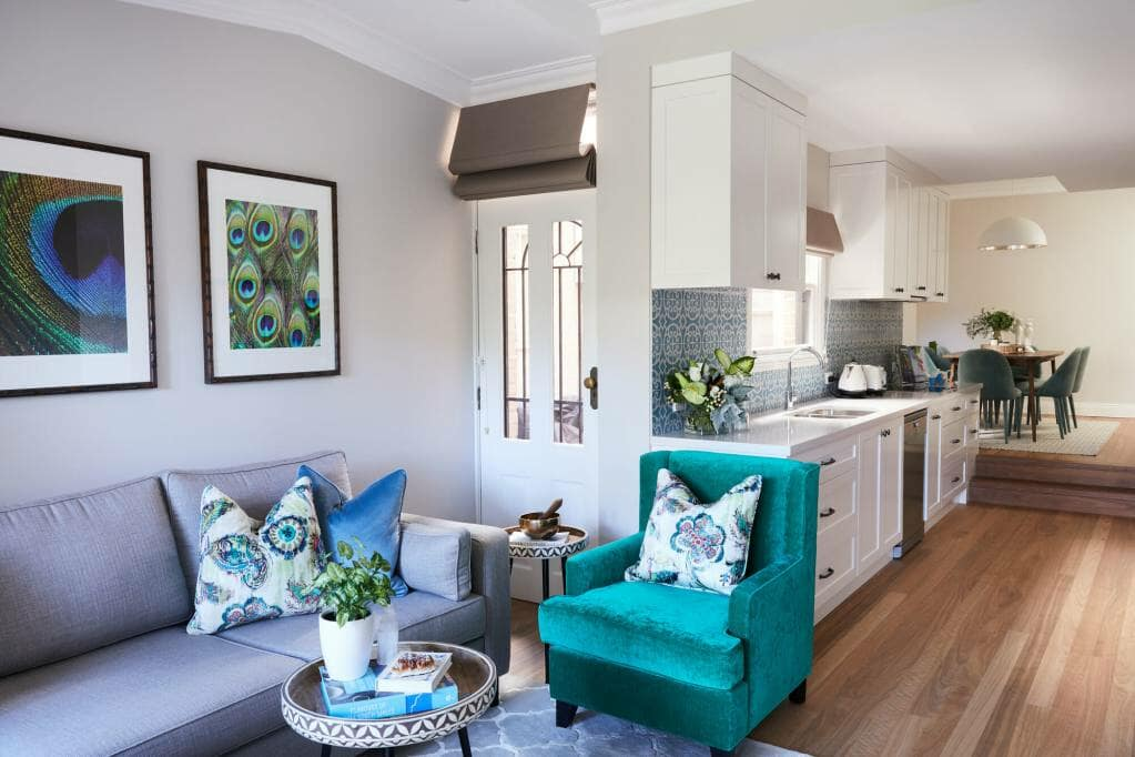 Rozelle Terrace - Kitchen & Lounge