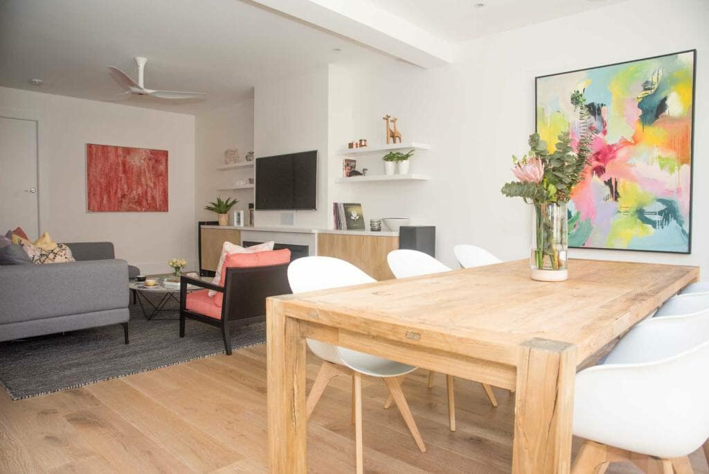 Randwick Home - Open Plan Lounge and Dinning