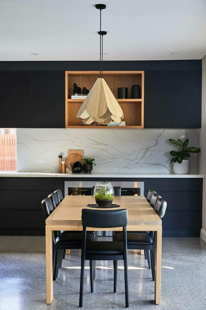 Willoughby Dining Table and Pendant