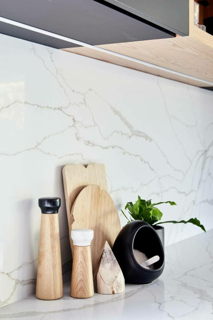 Willoughby Stone Bench and Splashback