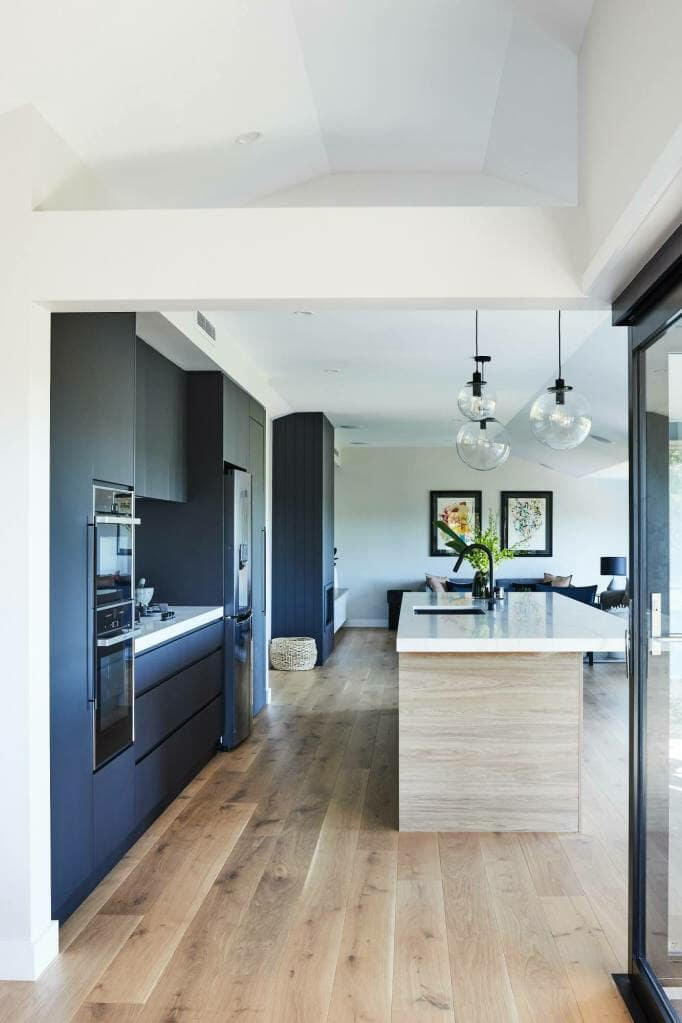 Forestville kitchen to lounge view