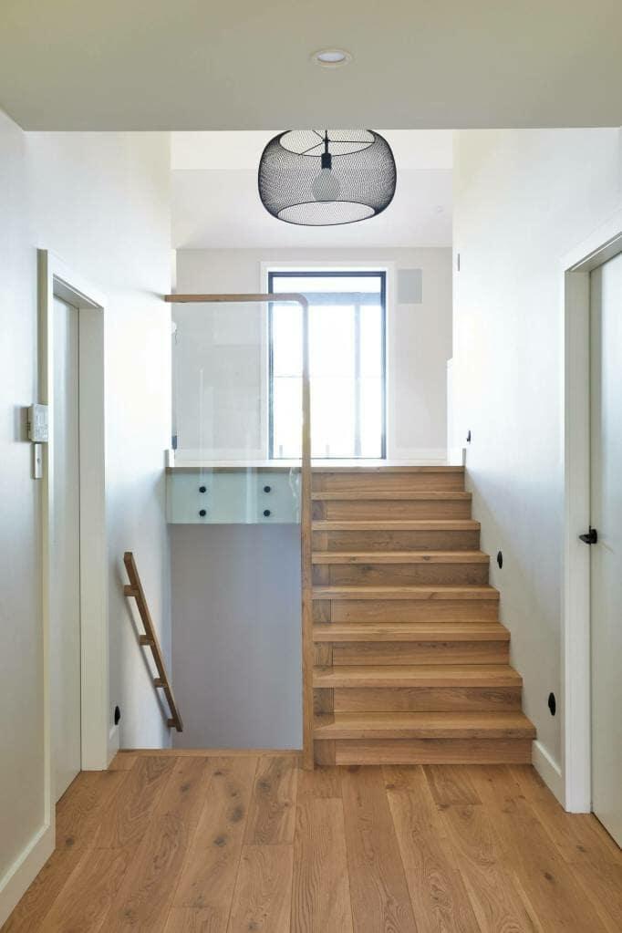 Forestville stairs detail